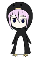 Crona Penguin by sillywall