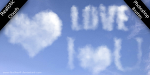 Realistic Cloud Symbol Brushes by feniksas4