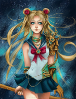 Steampunk Sailor Moon by Chemical-Exorcist