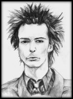 cliche sid vicious sketch by fourletterlie
