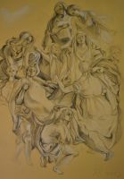 'Deposizione' (Pontormo) reproduction by ArrenPrince