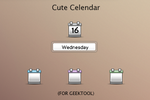 Cute Calendar by kirykid