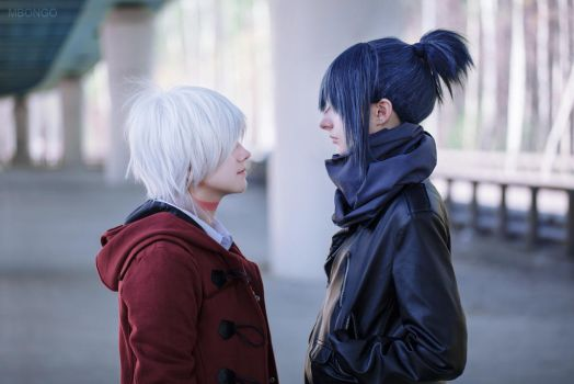 Sion and Nezumi cosplay by pollypwnz