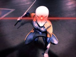 Gray Fox: A Cornered Fox by effektdmentality
