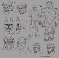 Jorr/Eric Design sketches by Archaes8