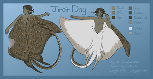Character Design Sheet - Ji by FennecWolf
