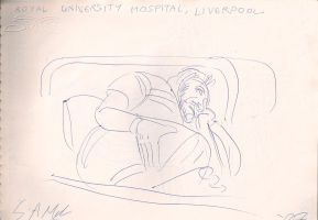 Gestural Hospital Sketch 2 by duraluminwolf
