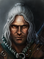 Witcher Geralt of Rivia by Tissia1229