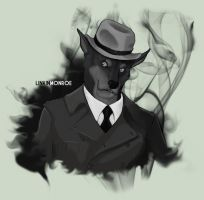 Noir Linkin Monroe by Defago