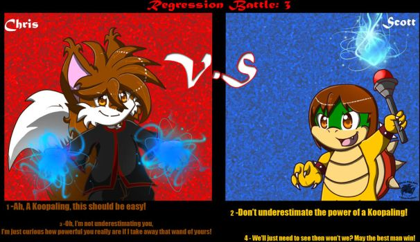 Regression Battle 3 by BabyChrisFox