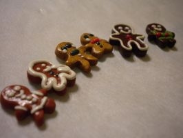 Gingerbread men by exeriox