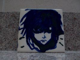 L Lawliet Tile by icygumball3000