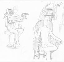 Some People Sitting In Chairs by RockAngell210