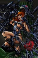She-Venom-BA Color Battle 07 by Casey-Bemis