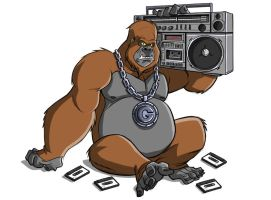 Hip Hop Gorilla by drdre74