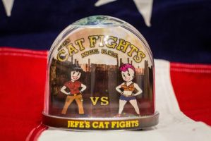 Fallout Snowglobe - Jefe's Cat Fights by iSeptem