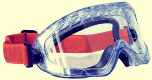 Clear Foam Safety Glasses by Civiquip