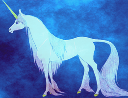 female Unicorn by Graupe