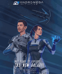 Mass Effect Andromeda poster GIF by shallete