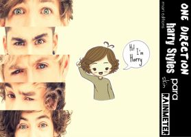 Harry Styles Skin Para Rainmeter by maarii03189
