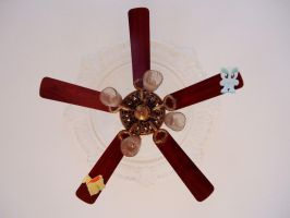 F and L stuck on ceiling fan by agomic
