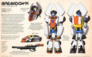 TFA Stunticons: Breakdown by dou-hong