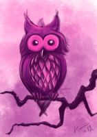 Valentine owl by whispofcloud