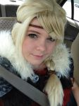 salt lake comic con astrid httyd2 pre con by ariahdawn