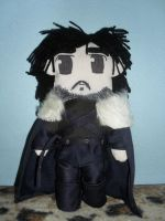 Jon Snow doll (Game of Thrones) by drusnemet