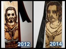 Farkas Bookmark Revisited by BumbleBeeFairy