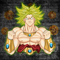 Broly by soulreaper162