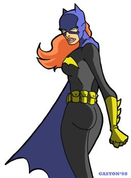 B is for Batgirl by Gaston25