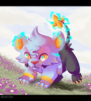A wild Shinx appears! by meteorcrash