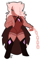TG | Pink Phantom Quartz by undercoverghost