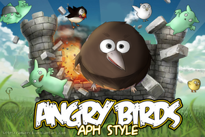 APH: ANGRY BIRDS 8D by amberc8