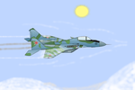Mig 29 Fulcrum. by thedrawliner