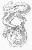 :Japanese Dragon: by peanutchan