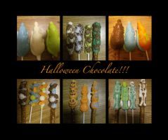Halloween Chocolate by amirila