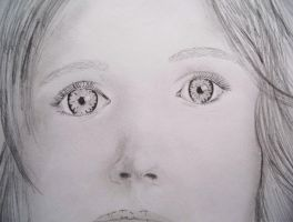 Little Girl's Face by Sydney0007