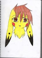 Pika has a new look. by KAC-N