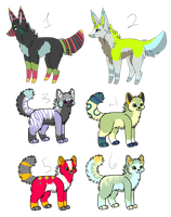 Mixed Adopts by CandyCaane