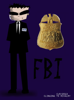 FBI Agent (For Mel's 'Clinging To Rivalry') by Catsville1