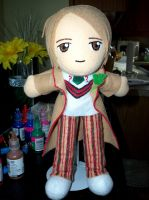 The Fifth Doctor by TashaAkaTachi