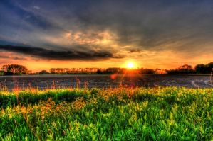 Sunset HDR by MisterDedication
