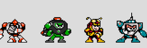 Mega Man 72 Re-redesigned RM's by HKLurch18