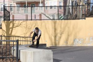 Roller Blading the Wall 9 by Miss-Tbones
