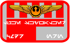 New Republic Pilot Nameplate V.2 by viperaviator