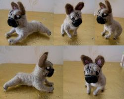 French Bulldog Felt by Turtle-Duck
