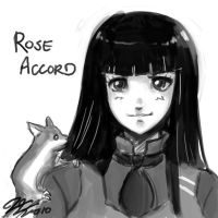 Rose Accord Head Sketch by johnjoseco