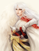 Sesshomaru by omurizer